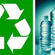181. Recicleaza materiale plastice cu simboluri reciclabile pe ele