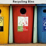 185. Colecteaza materialele reciclabile pe care le poti gasi la tine in casa