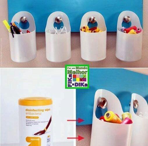 198. Transforma recipientele din plastic in vase pentru a alimenta cu apa si mancare animalele de companie