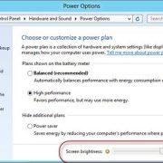 20. Optimizeaza setarile energetice la calculat
