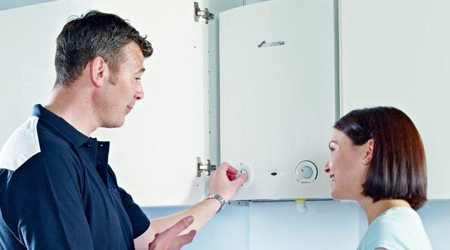 40. Realizeaza service-ul anual al boilerului